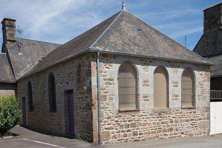 Vitraux de la Chapelle Julien Maunoir de Saint-Georges de Reintembault
