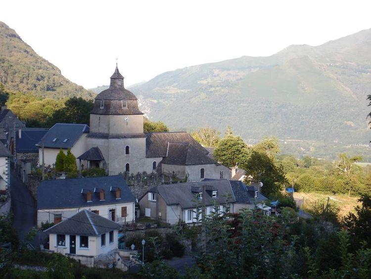 Eglise Saint-Jacques à Salles-Argelès