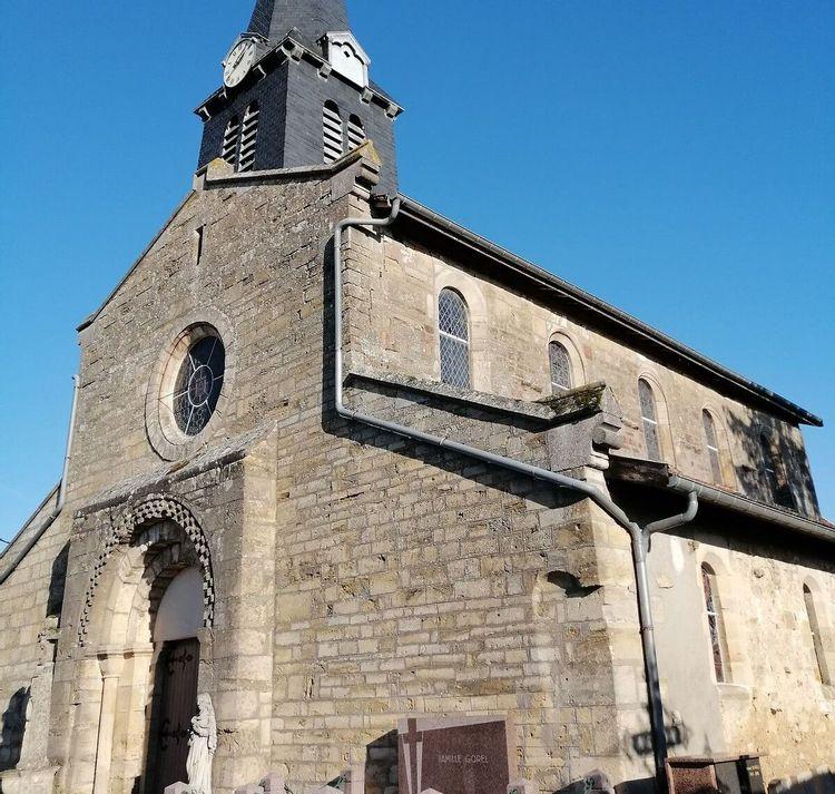Eglise de Brabant-le-Roi en Meuse