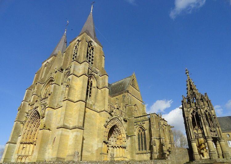 Basilique Notre-Dame d'Avioth en Meuse