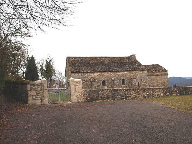 Eglise Saint-Maurice à Corveissiat