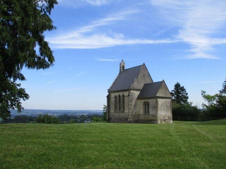 Chapelle Saint-Godegrand-et-Sainte-Opportune à Exmes