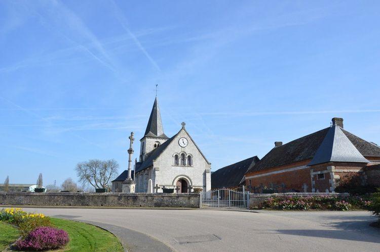 L'église Saint-Léonard de La Vaupelière