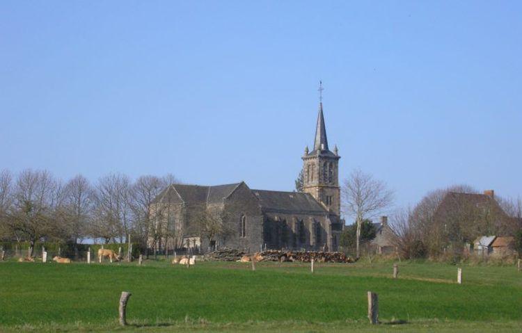 L'église Saint-Céneri de L'Épinay-le-Comte (Passais Villages)