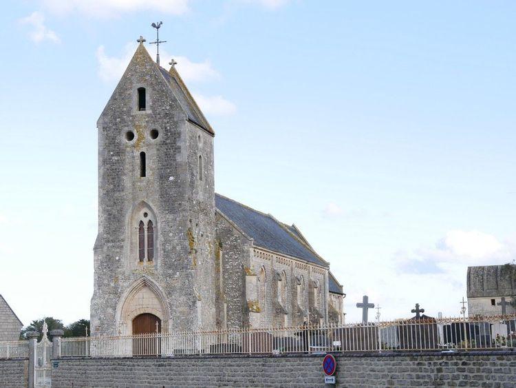 L'église de Saint-Laurent-sur-Mer (Calvados)