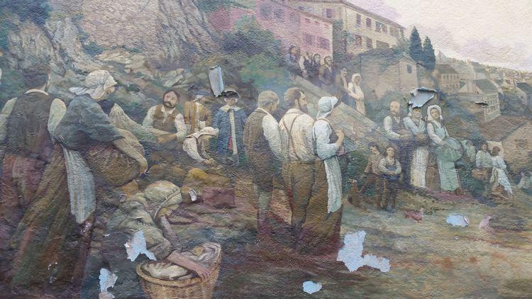 Fresque des Acadiens