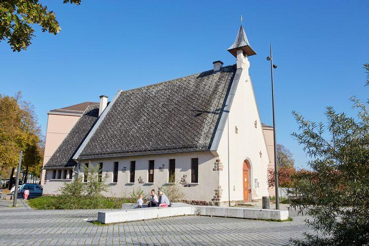 la chapelle de la rencontre à strasbourg
