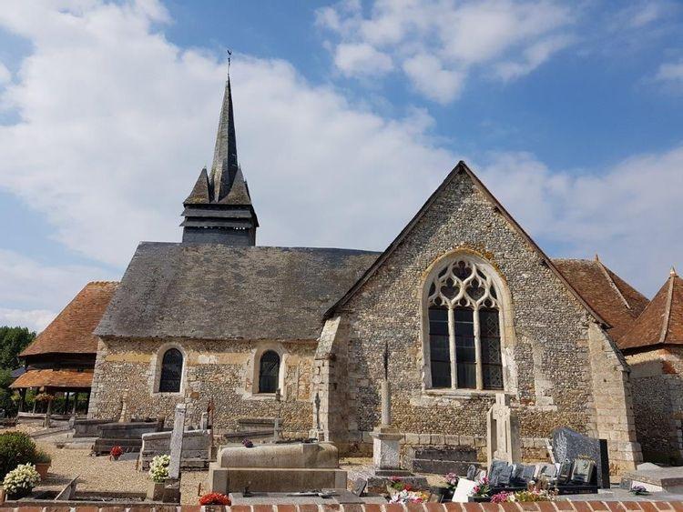 L'église Notre-Dame de Beauficel-en-Lyons