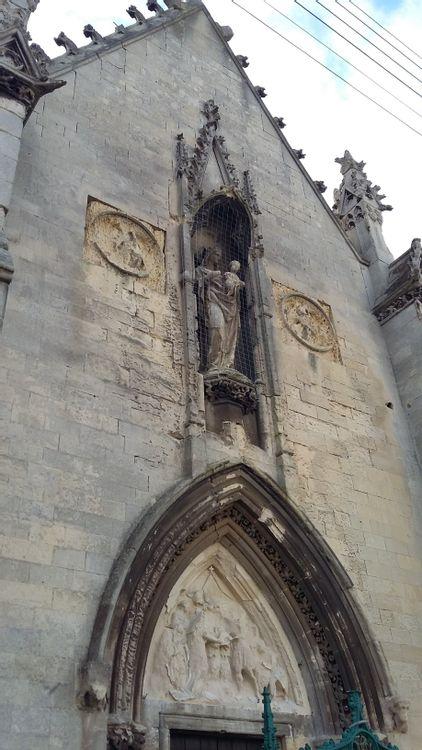 façade occidentale de la chapelle
