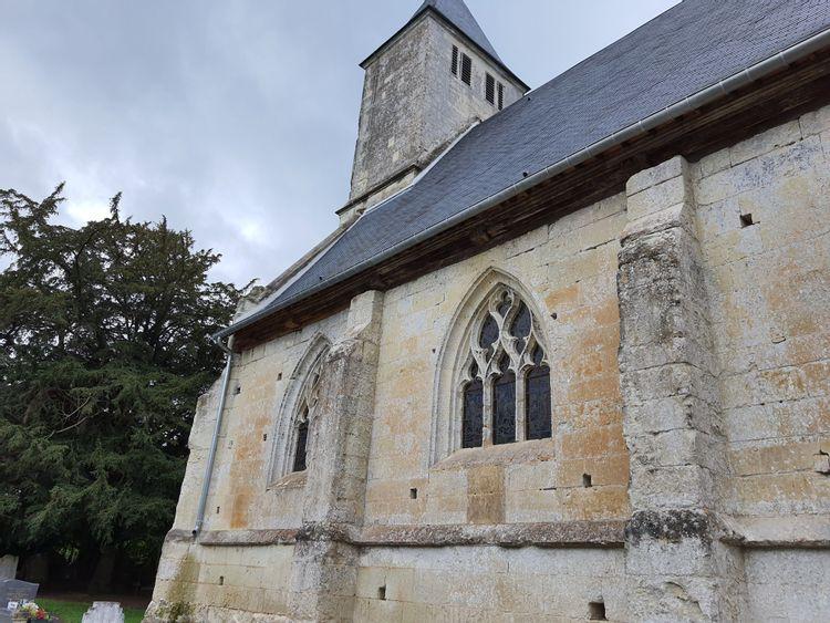 L'église de Saint-Pierre-Azif - Calvados