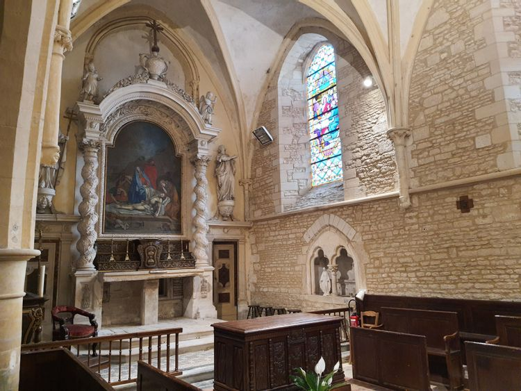 L'église de Plumetot - Calvados