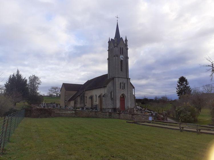 église de molamboz
