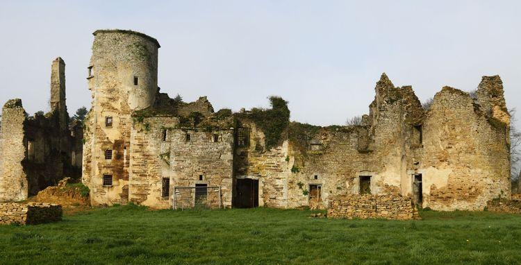 Château de Coëtcandec à Locmaria Grand Champ