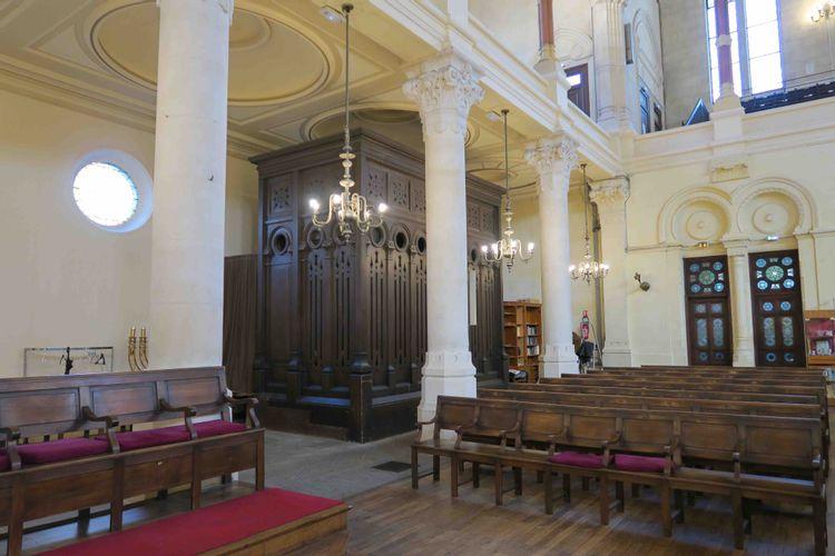 Orgue de la synagogue de Bordeaux