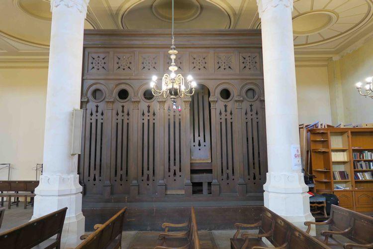 orgue de la grande synagogue de bordeaux