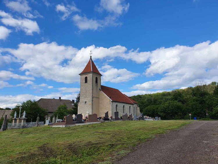 Les cloches de l'église d'Accolans