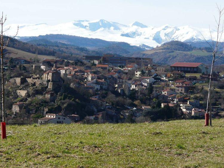 Vue depuis Anciat sur Champeix