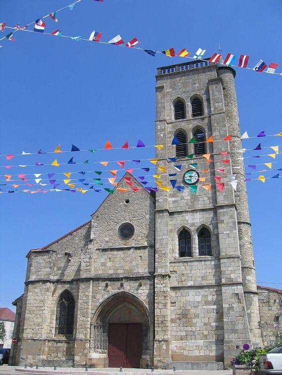 Restauration de l'église Sainte-Croix à Gannat dans l'Allier