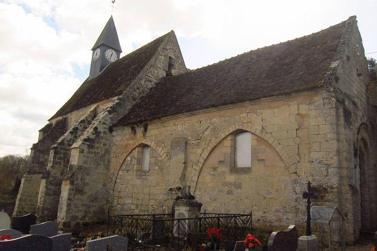 Eglise Saint-Martin de Branges à Arcy-Sainte-Restitue dans l'Aisne