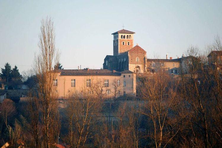 Prieuré Saint-Pierre de Ternay dans le Rhône
