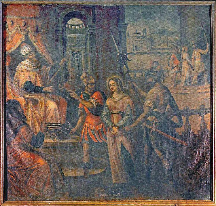 tableau alise sainte reine
