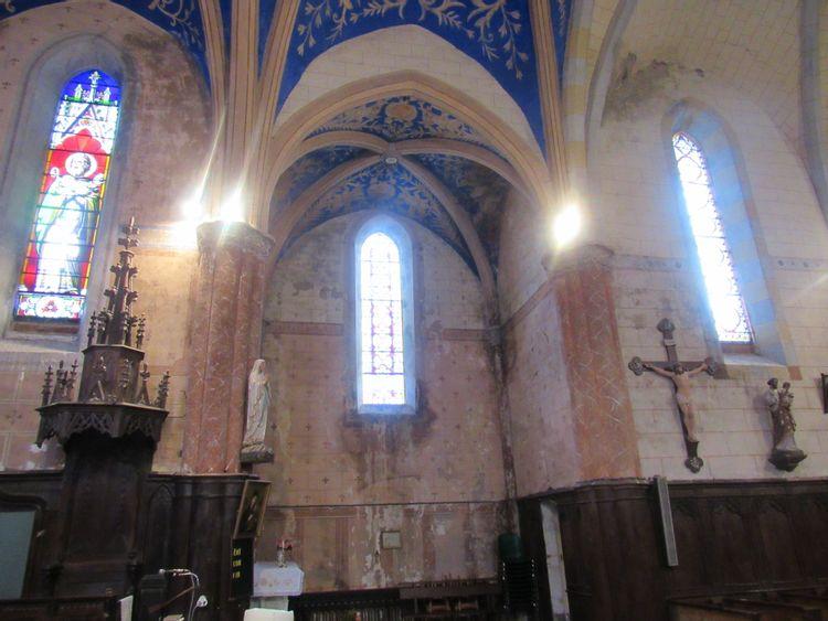 Eglise de Laroque à Fayet