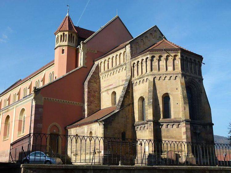 choeur de l'église saint-martin de pfaffenheim