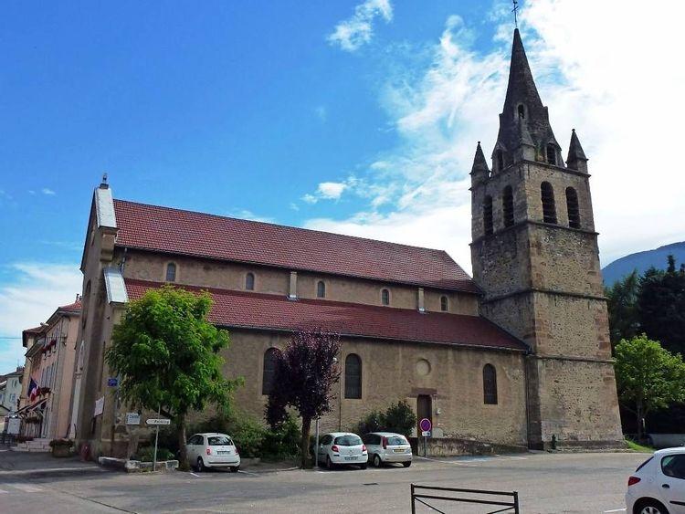 Eglise Saint Jean Baptiste à Vaulnaveys-le-Haut en Isère