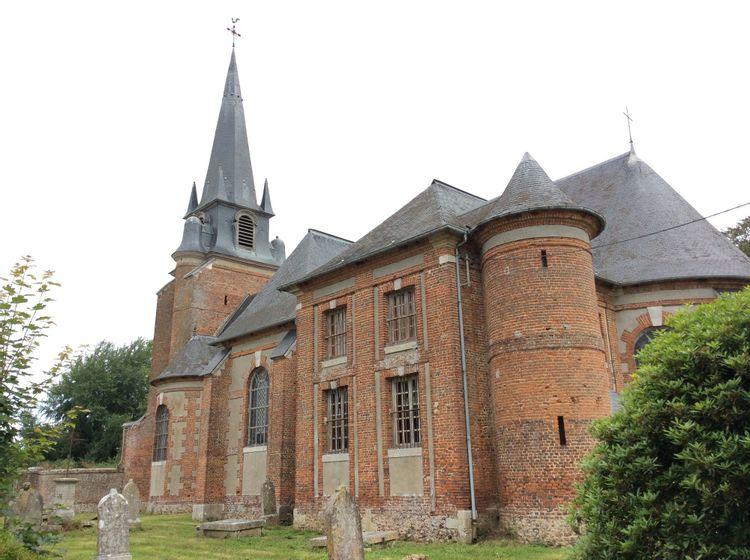 L'église Saint-Pierre et Saint-Paul de Grémonville