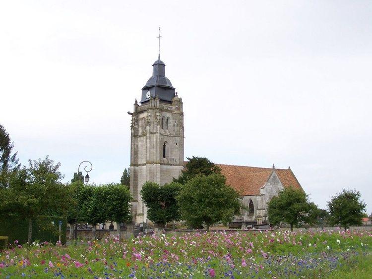 L'église Notre-Dame et Saint-Léger à Iville