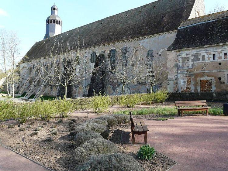 Eglise abbatiale de Thiron-Gardais en Eure-et-Loir