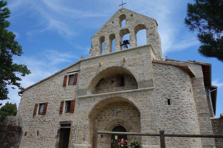 Eglise Saint-Pierre à Fabras