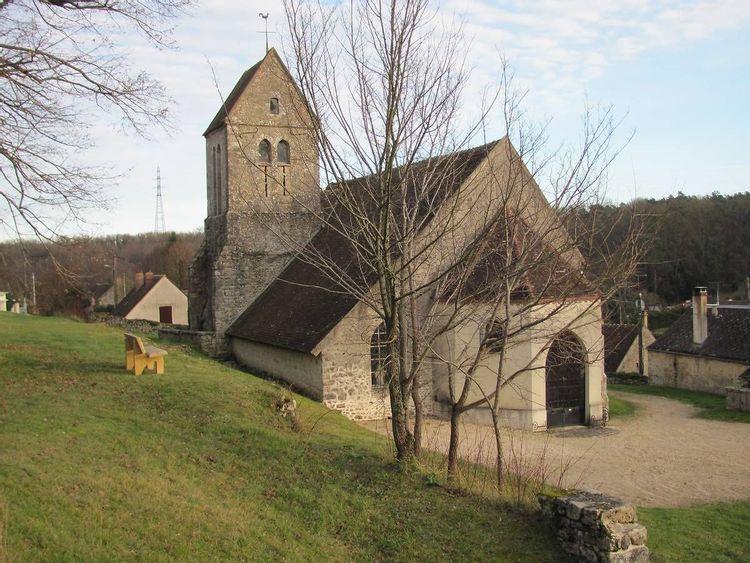 eglise saint-sulpice de faÿ-lès-nemours