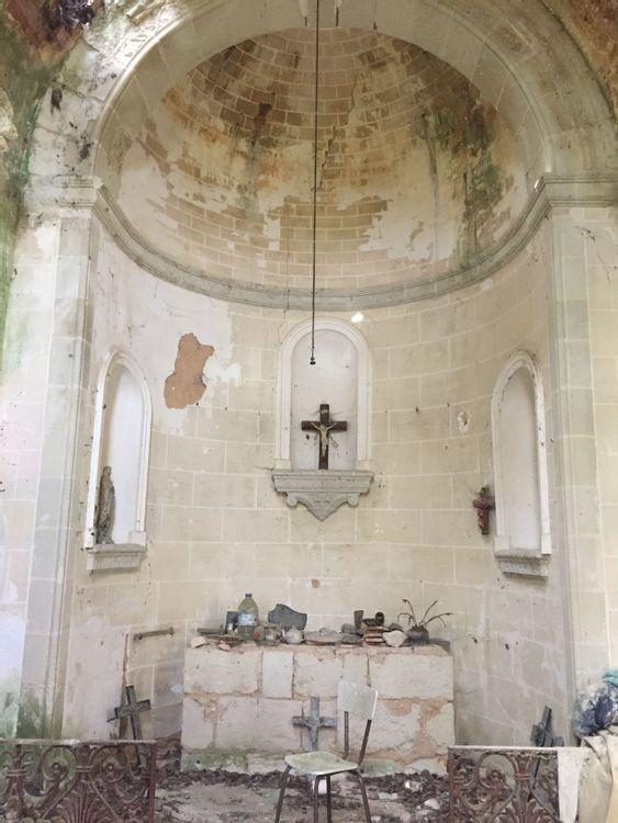 Extérieur de la chapelle