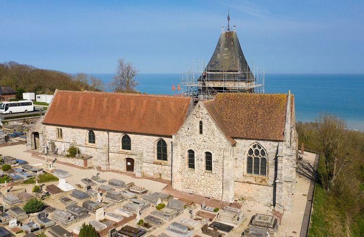 L'église Saint-Valery de Varengeville-sur-mer