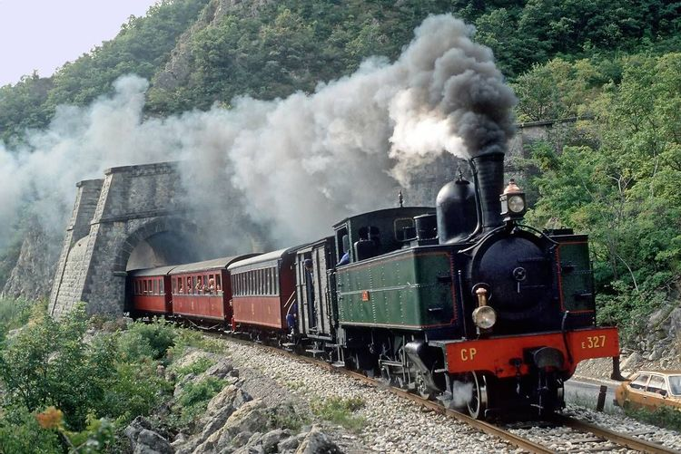 Locomotive E 327 - Puget Théniers