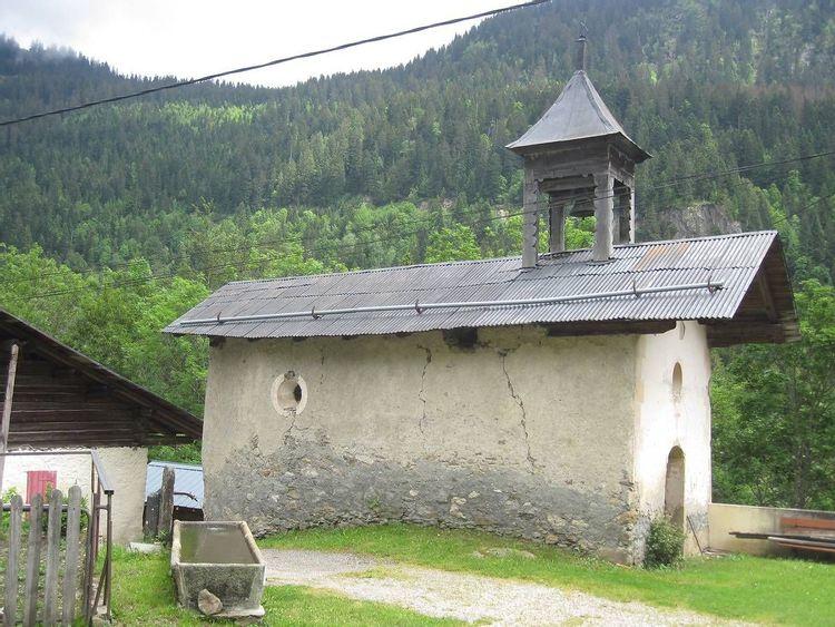 Chapelle de Beaubois à Beaufort en Savoie