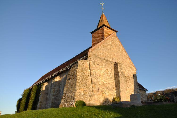 L'église Saint Christophe de Bénerville-sur-mer