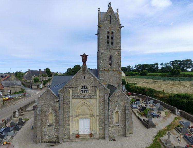 L'église Saint-Laurent de Tocqueville