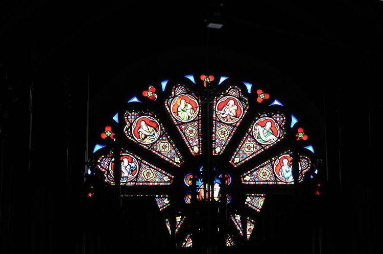 Demi rosace - église Saint-Jacques de Pau