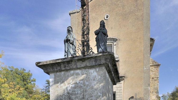 Croix du Calvaire à Villefranche-de-Rouergue