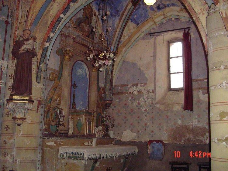 l'église saint-hilaire de labarathe-bleys dans le tarn
