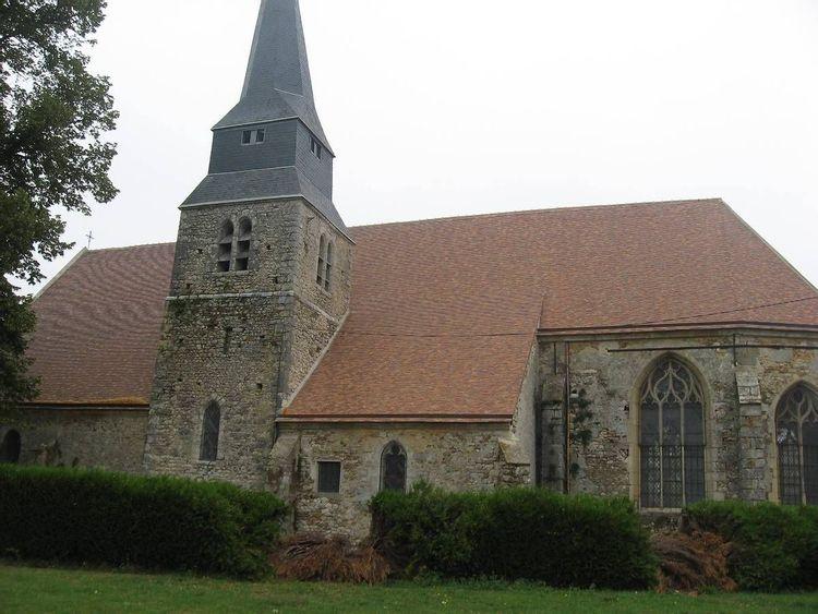 Eglise Saint-Nicolas de Le Mesnil Simon en Eure-et-Loir