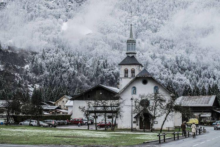 Eglise Saint Loup à Servoz en Haute-Savoie