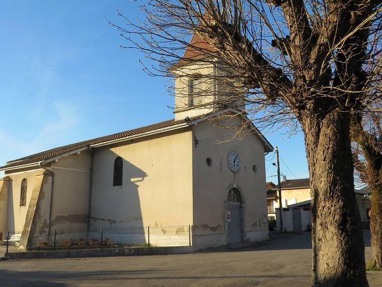 Eglise Saint-Georges de Beaucroissant