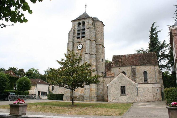 clocher de l'église saint-corneille de chartrettes
