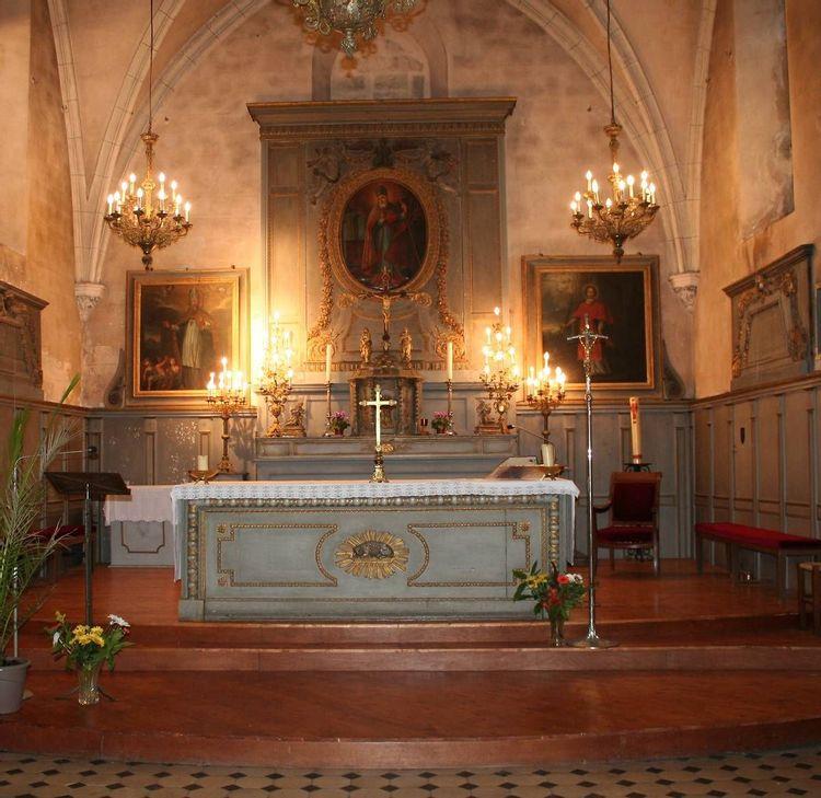 Autel - Eglise Saint-Corneille de Chartrettes