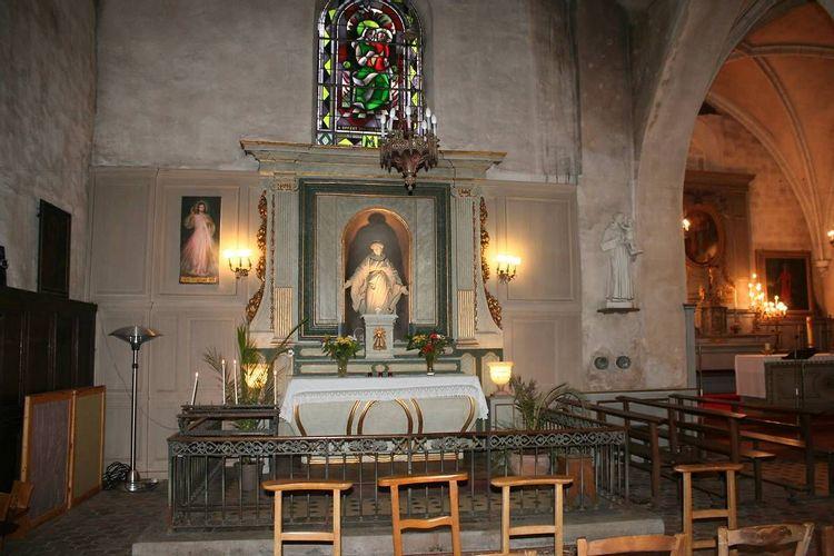 Retable - Eglise Saint-Corneille de Chartrettes