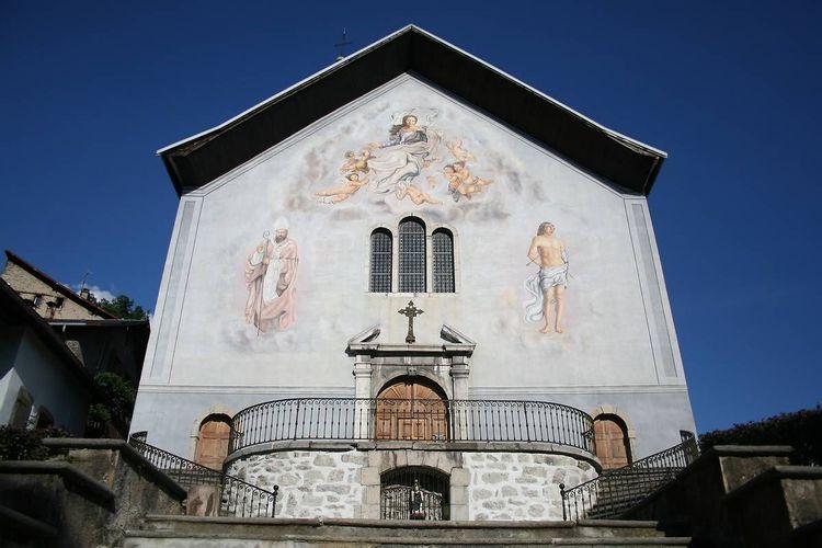 Eglise Notre-Dame de l'Assomption et Saint Grât de Conflans en Savoie