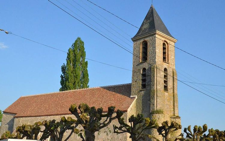 clocher de l'église saint-pierre-ès-liens d'huison longueville